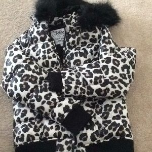 Justice Girls Puffer Jacket size 10